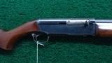 VERY RARE WINCHESTER MODEL 40 12 GAUGE SHOTGUN
