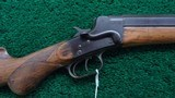 REMINGTON HEPBURN HEAVY BARREL RIFLE