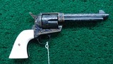 CASED 1ST GENERATION PRE-WAR COLT SINGLE ACTION - 1 of 16