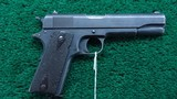 WW1 ROYAL AIR FORCE CONTRACT COLT 1911 IN 455 ELEY