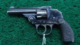 IVER JOHNSON THIRD MODEL SAFETY AUTOMATIC REVOLVER - 2 of 12