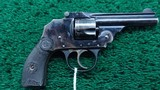 IVER JOHNSON THIRD MODEL SAFETY AUTOMATIC REVOLVER - 1 of 12