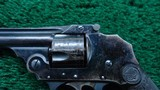 IVER JOHNSON THIRD MODEL SAFETY AUTOMATIC REVOLVER - 8 of 12