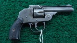 IVER JOHNSON HAMMERLESS REVOLVER