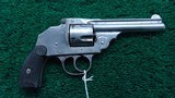 IVER JOHNSON TOP BREAK HAMMERLESS REVOLVER