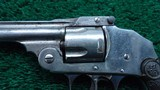 IVER JOHNSON SAFETY DOUBLE ACTION REVOLVER - 8 of 9