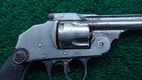 IVER JOHNSON SAFETY DOUBLE ACTION REVOLVER - 6 of 9