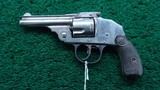 IVER JOHNSON SAFETY DOUBLE ACTION REVOLVER - 2 of 9
