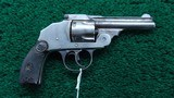 IVER JOHNSON SAFETY DOUBLE ACTION REVOLVER