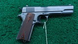 VERY NICE COLT US ARMY MODEL 1911 MADE IN 1917