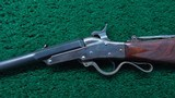 DELUXE CASED MAYNARD MODEL 1865 SPORTING RIFLE WITH 2 SETS OF BARRELS - 2 of 25