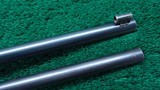 DELUXE CASED MAYNARD MODEL 1865 SPORTING RIFLE WITH 2 SETS OF BARRELS - 6 of 25