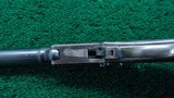 DELUXE CASED MAYNARD MODEL 1865 SPORTING RIFLE WITH 2 SETS OF BARRELS - 8 of 25