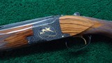 BELGIUM MADE BROWNING SUPER-POSED MIDAS GRADE OVER AND UNDER 12 GAUGE SHOTGUN - 2 of 24