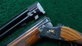BELGIUM MADE BROWNING SUPER-POSED MIDAS GRADE OVER AND UNDER 12 GAUGE SHOTGUN - 14 of 24
