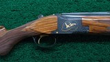 BELGIUM MADE BROWNING SUPER-POSED MIDAS GRADE OVER AND UNDER 12 GAUGE SHOTGUN - 1 of 24