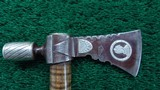 EXHIBITION GRADE QUALITY PIPE TOMAHAWK - 4 of 14