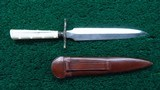 I*XL MARKED DUEL EDGE BOWIE KNIFE - 2 of 8