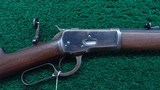 ANTIQUE WINCHESTER MODEL 1892 RIFLE IN 44 WCF