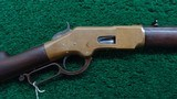 EARLY HENRY MARKED WINCHESTER 1866 RIFLE