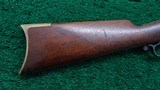 VERY RARE HENRY RIFLE WITH INCREDIBLY SCARCE ROUND TOP CONFIGURATION - 16 of 18