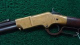 VERY RARE HENRY RIFLE WITH INCREDIBLY SCARCE ROUND TOP CONFIGURATION - 2 of 18