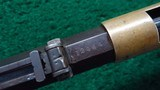 VERY RARE HENRY RIFLE WITH INCREDIBLY SCARCE ROUND TOP CONFIGURATION - 6 of 18
