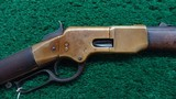 FIRST MODEL WINCHESTER 1866 FLAT SIDE CARBINE - 1 of 18