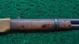 FIRST MODEL WINCHESTER 1866 FLAT SIDE CARBINE - 5 of 18