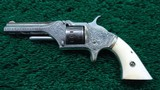 FACTORY ENGRAVED AMERICAN STANDARD TOOL COMPANY SPUR TRIGGER REVOLVER - 2 of 11
