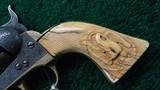 ENGRAVED COLT 1851 ROUND BARREL NAVY - 10 of 15