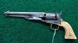 ENGRAVED COLT 1851 ROUND BARREL NAVY - 2 of 15