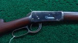WINCHESTER MODEL 1894 SPECIAL ORDER EXTRA LIGHT WEIGHT TAPERED BARREL