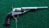 COLT MODEL 1861 NICKEL CONVERSION REVOLVER