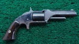 SMITH & WESSON MODEL 1-1/2 FIRST ISSUE SPUR TRIGGER REVOLVER
