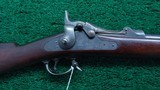 SPRINGFIELD MODEL 1884 TRAPDOOR RIFLE
