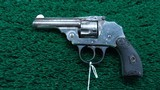 IVER JOHNSON SAFETY AUTOMATIC HAMMERLESS 32 CAL - 2 of 9