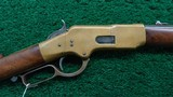 WINCHESTER 1866 FIRST MODEL FLAT SIDE CARBINECALIBER 44 RF