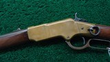 WINCHESTER 1866 FIRST MODEL FLAT SIDE CARBINECALIBER 44 RF - 2 of 16