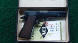 COLT MODEL 1911A1 ACE LIKE NEW IN THE BOX