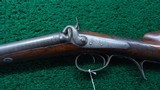 DOUBLE BARREL PERCUSSION 8 GAUGE MARKET SHOTGUN - 2 of 23