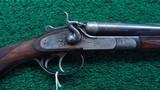 BAYARD 28 GAUGE SXS HAMMER SHOTGUN