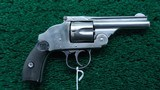 HARRINGTON & RICHARDSON 38 HAMMERLESS REVOLVER
