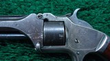 SMITH & WESSON 22 CAL TIP-UP MODEL NO.1 SECOND ISSUE REVOLVER - 8 of 10