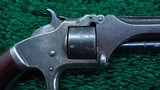 SMITH & WESSON 22 CAL TIP-UP MODEL NO.1 SECOND ISSUE REVOLVER - 6 of 10