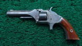 SMITH & WESSON 22 CAL TIP-UP MODEL NO.1 SECOND ISSUE REVOLVER - 2 of 10