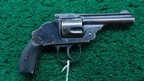 HARRINGTON & RICHARDSON 38 DA HAMMERLESS REVOLVER