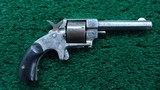 FOREHAND & WADSWORTH SPUR TRIGGER REVOLVER