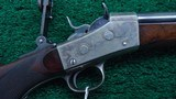 REMINGTON CREEDMORE NUMBER 1 ROLLING BLOCK SCHUETZEN RIFLE