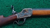 POPE SPORTERIZED WINCHESTER HI-WALL RIFLE